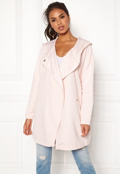 VILA Lake Loose Jacket Peach Blush Bubbleroom.fi