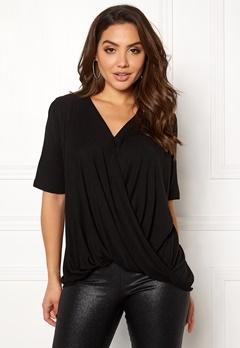 VILA Lolla S/S T-shirt/PB Black Bubbleroom.fi