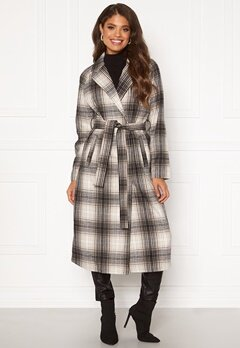 VILA Lulus Wool Coat Simply Taupe : Check Bubbleroom.fi