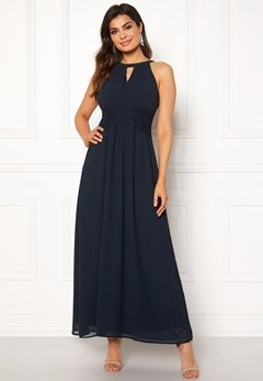 VILA Milina Maxi Dress Total Eclipse Bubbleroom.fi