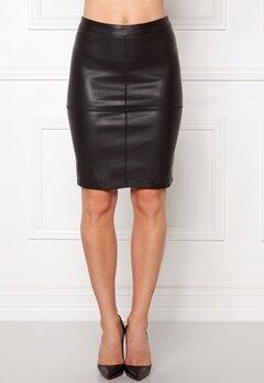 VILA Pen New Skirt Black Bubbleroom.fi