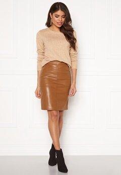 VILA Pen New Skirt Rawhide Bubbleroom.fi
