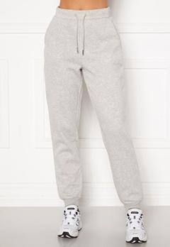 VILA Pera HW Sweat Pant Super Light Grey Mel Bubbleroom.fi