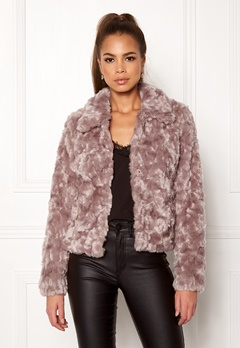 VILA Perlo Jacket Adobe Rose Bubbleroom.fi