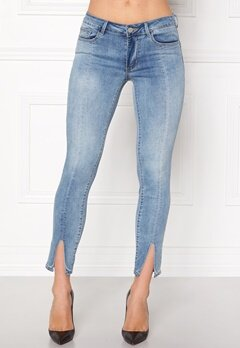 VILA Petal Super Slim Jeans Medium Blue Denim Bubbleroom.fi