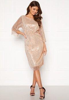 VILA Rama 3/4 Dress Silver Peony Bubbleroom.fi