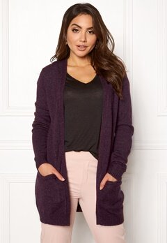 VILA Ril Open Knit Cardigan Winetasting Bubbleroom.fi