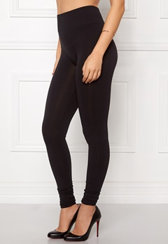 VILA Seam Long Leggings Black Bubbleroom.fi