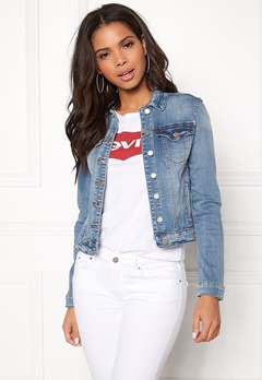 VILA Show Denim Jacket Medium Blue Denim Bubbleroom.fi