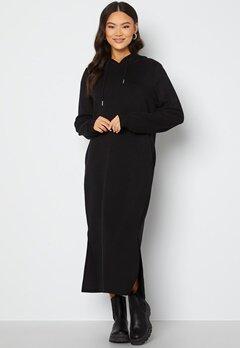 VILA Sif L/S Mid Sweat Dress Black Bubbleroom.fi