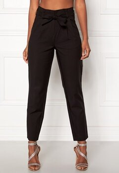 VILA Sofina Highwaist 7/8 Pant Black Bubbleroom.fi