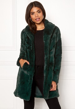 VILA Softa Faux Fur Coat Pine Grove Bubbleroom.fi