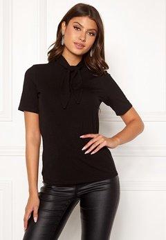 VILA Suri S/S T-shirt Black Bubbleroom.fi