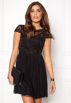 VILA Ulricana Short Dress Black Bubbleroom.fi