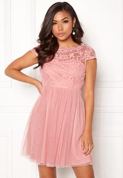VILA Ulricana Short Dress Bridal Rose Bubbleroom.fi