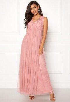 VILA Ulricana S/L Maxi Dress Bridal Rose Bubbleroom.fi