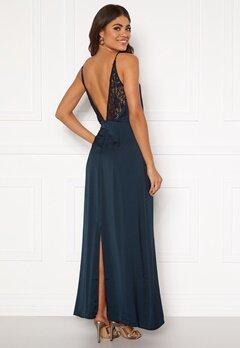 VILA Vinupa S/L Maxi Dress Total Eclipse Bubbleroom.fi