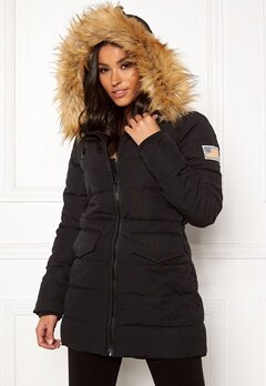 Svea W. Joy Jacket 900 Black Bubbleroom.fi