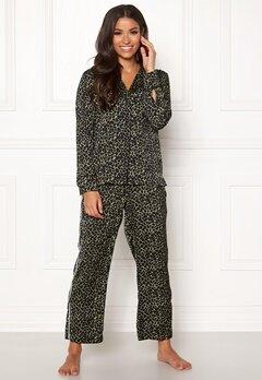 Love Stories Weekend Pyjama Pants Black Bubbleroom.fi