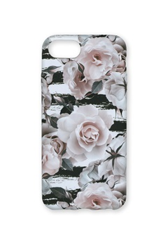 Wilma Wilma Soft Case Roses & Stripes Bubbleroom.fi