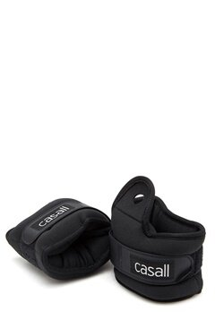 Casall Wrist Weights 2x2kg 901 Black Bubbleroom.fi