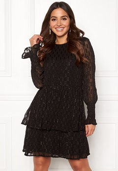 Y.A.S Adele LS Dress Black Bubbleroom.fi