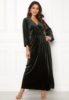 Y.A.S Balea 3/4 Ancle Dress Darkest Spruce Bubbleroom.fi