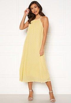 Y.A.S Bali Strap Midi Dress Pale Banana Bubbleroom.fi