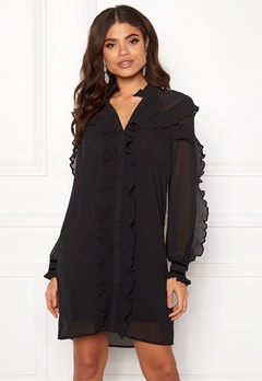 Y.A.S Blissa LS Dress Black Bubbleroom.fi