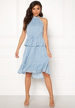 Y.A.S Cecilia Dress Alaskan Blue Bubbleroom.fi
