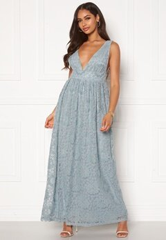 Y.A.S Cheshire SL Maxi Dress Blue Heaven Bubbleroom.fi