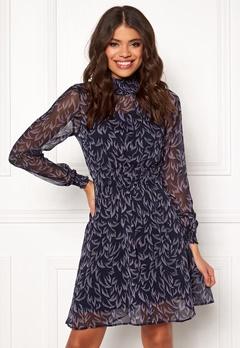 Y.A.S Coralla LS Dress Dark Sapphire Bubbleroom.fi
