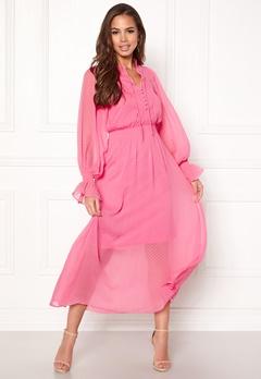 Y.A.S Debra L/S Dress Sachet Pink Bubbleroom.fi