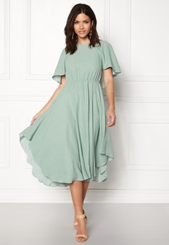 Y.A.S Dicca S/S Dress Jadeite Bubbleroom.fi