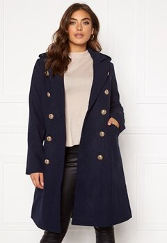 Y.A.S Goldian Wool coat Navy Blazer Bubbleroom.fi