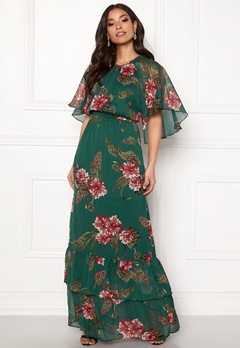 Y.A.S Hilma Maxi Dress June Bug Bubbleroom.fi