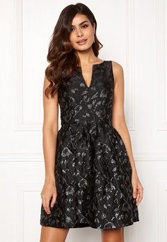Y.A.S Losha SL Dress Black Bubbleroom.fi