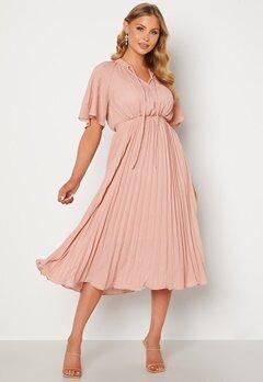Y.A.S Manna 2/4 Midi Dress Blush bubbleroom.fi