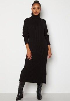 Y.A.S Mavi LS Knit Dress Black Bubbleroom.fi