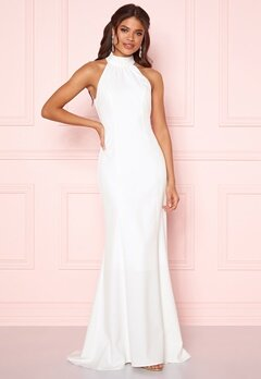 Y.A.S Meghan Maxi Dress Star White Bubbleroom.fi