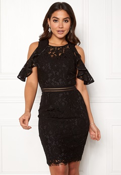 Y.A.S Nicola Lace Dress Black Bubbleroom.fi