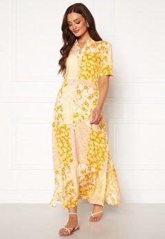 Y.A.S Patcha SS Ankle Dress Golden Haze Bubbleroom.fi