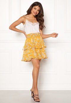 Y.A.S Ray Short Skirt Tawny Olive Bubbleroom.fi