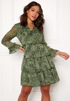Y.A.S Shanna 7/8 Dress Chive Bubbleroom.fi