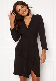 Y.A.S Taylor 7/8 Dress Black Bubbleroom.fi
