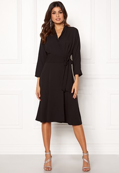 Y.A.S Unika LS Dress Black Bubbleroom.fi