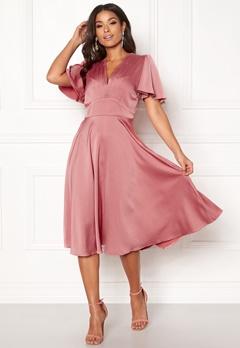 Y.A.S Valley S/S Dress Rose Smoke Bubbleroom.fi