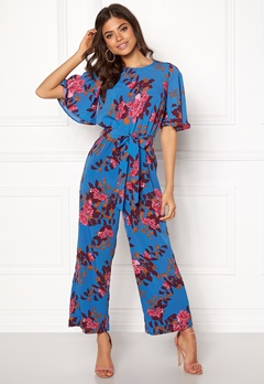 Y.A.S Wadaya Jumpsuit Strong Blue Bubbleroom.fi