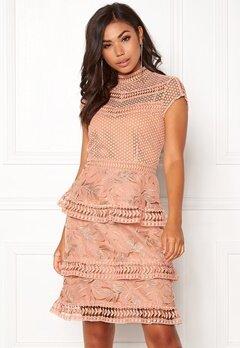 Y.A.S Yrsa Lace Dress Rose Smoke Bubbleroom.fi