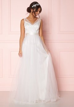 Zetterberg Couture Nadja Long Bridal Dress Ivory Bubbleroom.fi